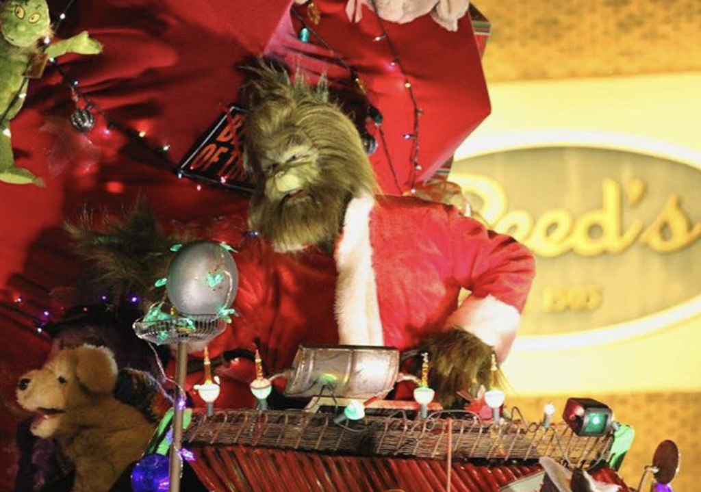 8bdd3944390d Bring the family out to Oren Dunn City Museum to Meet the Grinch! Ring in the  holidays by meeting the Grinch and having your photograph taken with him.