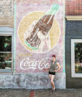 Coca-Cola Wall Art Advertising Mural