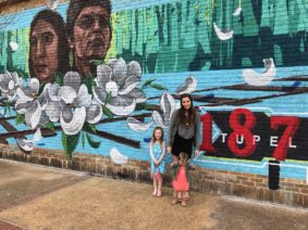 Chickasaw Heritage Mural