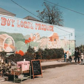 Buy Local Produce Mural