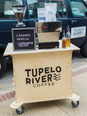 Tupelo River Coffee Mobile Cart